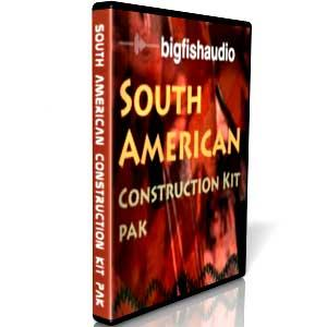 بیت های آمریکای جنوبی Big Fish Audio South American Construction Kit Pak