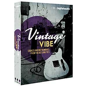 گلچین بسیار غنی ازسازها Big Fish Audio Vintage Vibe Refill