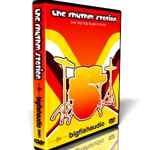 مجموعه لوپ های درام و پرکاشن Big Fish Audio the rhythm station