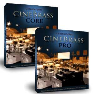 وی اس تی سازهای بادی برنجی Cinesamples CineBrass CORE
