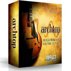 وی اس تی گیتار الکتریک Impact Soundworks Archtop Hollowbody Electric Guitar