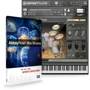 وی اس تی درام دهه 80 Native Instruments Abbey Road 80s Drummer