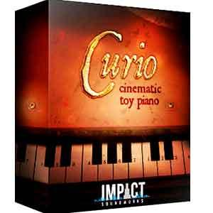 صداهای خاص مینیاتوری Impact Soundworks CURIO Cinematic Toy Piano