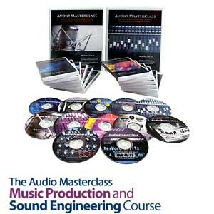 آموزشی تهیه کنندگی موسیقی The Audio Masterclass Music Production and Sound Engin