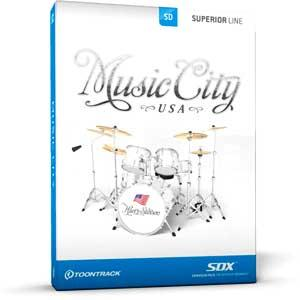 خرید اینترتی Toontrack Music City USA SDX