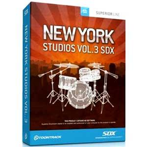 اکسپنشن درام Toontrack New York Studios Vol.3