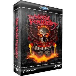 اکسپنشن درام راک Toontrack Superior Drummer The Metal Foundry SDX