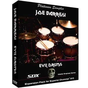 خرید اینترتی Toontrack Superior Drummer Platinum Samples Joe Barresi Evil Drums SDX
