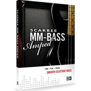 وی اس تی بیس الکتریک Native Instruments Scarbee MM-Bass Amped