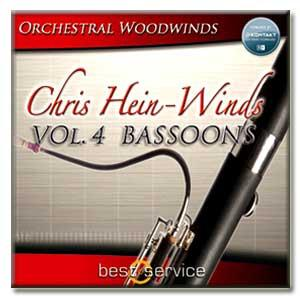وی اس تی فاگوت ( باسون ) Best Service Chris Hein Winds Vol 4 - Bassoons