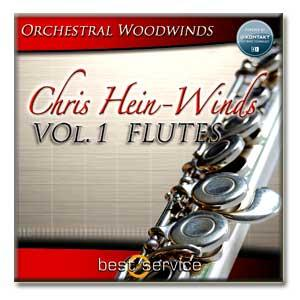 وی اس تی فلوت Best Service Chris Hein Winds Vol 1 - Flutes