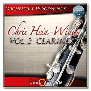 وی اس تی کلارینت Best Service Chris Hein Winds Vol 2 - Clarinets
