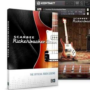 وی اس تی گیتار بیس Native Instruments Scarbee Rickenbacker Bass
