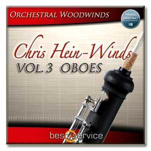 خرید اینترتی وی اس تی (Oboe) ابوا Best Service Chris Hein Winds Vol 3 - Oboes