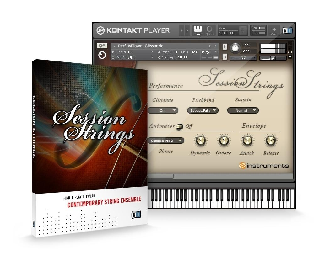 خرید اینترتی ویولن Native Instruments Session Strings